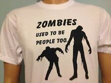ZOMBIE USATI TO BE PERSONE TOO, Divertente walking dead, Zombieland T-shirt