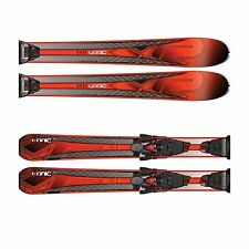 K2 Herren Ikonic 85Ti MXC 12TCx Quicklick Set All Mountain Ski Black/FloRed