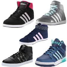 Adidas Neo Hoops Vulc Daily Twist Mid Trainers Hi Top Vl Gym Sports Shoes  Wo...
