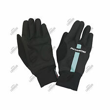 GUANTI BIANCHI REPARTO CORSE INVERNALI BICI CICLISMO CYCLING BIKE WINTER GLOVES