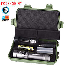 5000Lm CREE XML T6 LED Military Flashlight Torch Zoom Lamp 18650 Battery 5 Modes