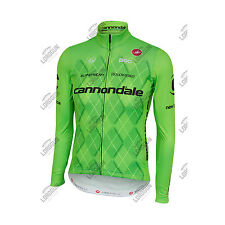 MAGLIA MANICHE LUNGHE CASTELLI TEAM 2.0 CANNONDALE LONG SLEEVE JERSEY CYCLING