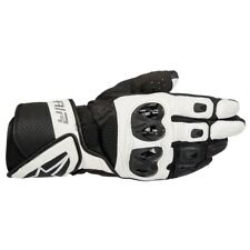 Alpinestars SP Air Black & White Leather Motorcycle Gloves