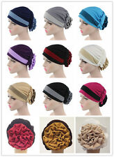 Muslim Women Flower Caps Hijab Arab Shawls Headwear Islamic Hats Scarf Hijab