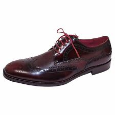 FRONT SHOES AZOR PALETTA MENS BURGUNDY BROGUES
