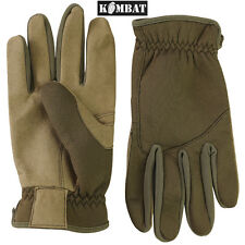 Military Delta Fast Gloves Tactical Thermal Airsoft Cayote Army Surplus New