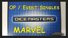 Marvel Dice Masters OP / Prize Cards