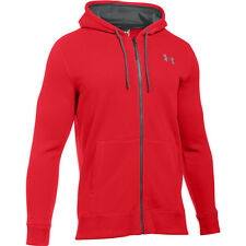 Under Armour Storm Rival cotone felpa con cappuccio Zip Red 1280781-600