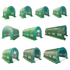FoxHunter Fully Galvanised Frame Polytunnel Greenhouse Pollytunnel Poly Tunnel