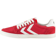 Hummel Slimmer Stadil Waxed Low Top Sneaker Schuhe red 64-424-3425 High Canvas