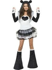 Costume Carnevale Donna Animale Panda Tutu' Dress Smiffys PS 17526