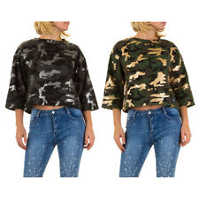 SIXTH JUNE KURZES CAMOUFLAGE DAMENSWEATSHIRT 3957 0€