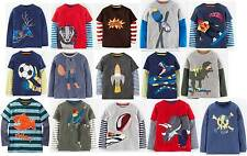 Mini Boden Boys Applique top shirt lots of styles 1-12 years new long sleeve