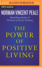 The Power of Positive Living by Norman Vincent Peale (2016, MP3 CD, Unabridged)