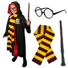 CHILDS WIZARD COSTUME SET WORLD BOOK DAY CHARACTER UNISEX MAGICAL BOYS GIRLS