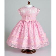 Pink Lace Party Dress ~ Fits 18