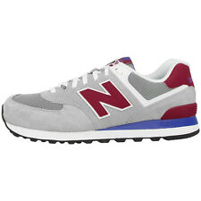 New Balance ML 574 MOX Schuhe grau rot ML574MOX Sneaker grey red M574 373 410
