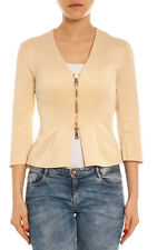 Giubbino Giacca Siste's Jacket -50% MADE IN ITALY Donna Beige 15E251-