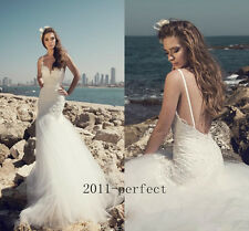 2017 Summer Mermaid Wedding Dresses Sweetheart Lace Bridal Gowns Free Shipping