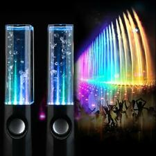 STEREO MUSIC LED DANCING WATER FOUNTAIN LIGHT SPEAKERS FOR IPAD IPHONE PC