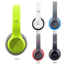 Auriculares Headphones Profesional Gaming P47 Wireless Bluetooth Stereo HQ