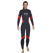 Mares Pioneer - SCUBA DIVE Ladies 5 mm Temperate Water Wet-suit with Free Hood
