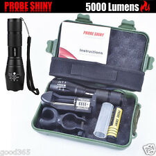 X800 Flashlight XM-L T6 LED Zoomable Military Torch ShadowHawk   Battery UK