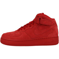 Nike Air Force 1 Medio GS Deportiva Alta Botín blanco rojo 314195-603 Dunk Max