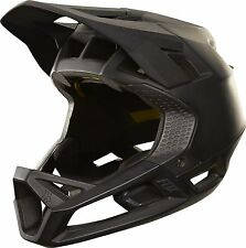 Fox 2018 Proframe Enduro / Downhill MTB Full Face Helmet Matte Black *RRP £215*