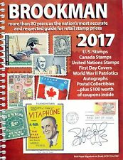Brookman 2017 US and Canadian Stamp Catalog and Price Guide