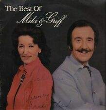 2xLP Miki & Griff The Best Of Miki & Griff SIGNED NEAR MINT PRT Records