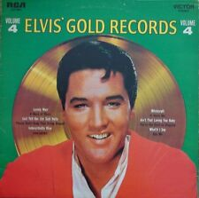 Elvis Presley Elvis Gold Records Volume 4 ITALIAN PRESS RCA Victor Vinyl LP