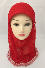 MUSLIM KIDS GIRLS HEADSCARF ISLAMIC PLAIN SCARF HEAD HIJAB SCARF SHAWLS HEADWEAR