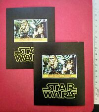 Star Wars Han Solo & Chewbacca 2016 Stamp perf+imperf souvenir sheet MNH