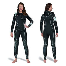 Mares Dual LADIES 2 Piece Scuba Dive Semi-Dry Wetsuit 5 mm Cold/Temperate Water