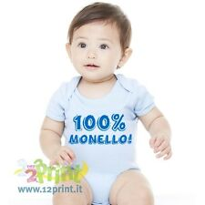 Body Neonato 100% Monello