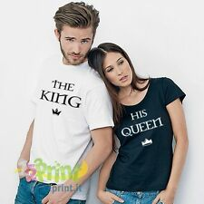 Magliette The King And His Queen
