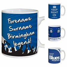 Personalised Official Birmingham City FC Football Club Mugs Gifts for Fans