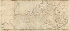 Photo Reprint Antique American Cities Towns States Map Kentucky