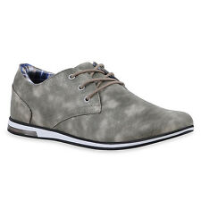 MUST-HAVE HERREN SCHUHE 120053 BUSINESS GRAU 40 STYLISCH