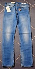 Bnwt Selected Homme Gent's Two Roy Slim Fit Jeans In Light Wsh - All Sizes! (B2)