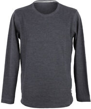 Cleptomanicx Mesher Longsleeve Leichter Herren Pullover Heather Black