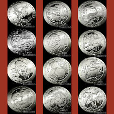 CHINESE ZODIAC SERIES Your Pick from 12 CuproNickel Coins 1993-2004 ISLE OF MAN