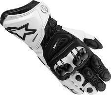 Alpinestars GP Pro Motorcycle Gloves (Bk/Wh) **Now Only £110.00**