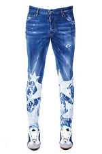 Jeans Dsquared Jeans % Strech Jeans Made In Italy Uomo Denim S74LB0093S30342470-