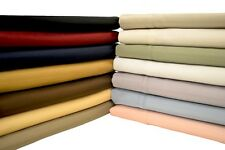Silky Soft Sheets Wrinkle Free Solid Microfiber bed Sheet Set Deep Pocket