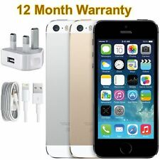 Apple iPhone 5S 16GB 32GB 64GB Silver Grey Gold Unlocked Smartphone All Colours