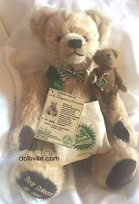 HERMANN COBURG THE BEAR COLLECTOR 2 Bears Set  L/Ed of only 10 German Mohair NEW