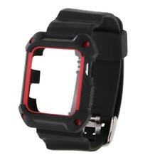 Replacement Silicone Wrist Bracelet Sport Band Strap For Apple Watch iWatch 38mm