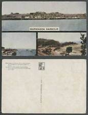 Portuguese India Old Postcard GOA Marmagoa Harbour, Natural Anchorage West Coast